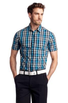 Freizeit-Hemd ´Bastiano` mit Kentkragen, Hellblau