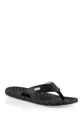 Teenslippers ´Shoreline NetworkI`, Zwart