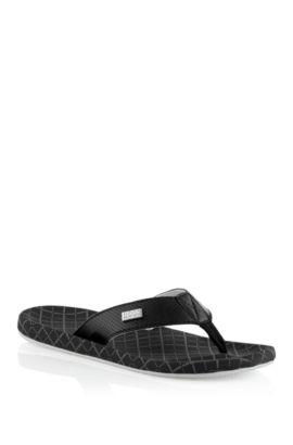 Sandales à entredoigts, Shoreline Network, Noir