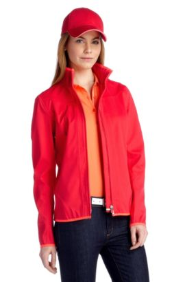 Water-repellent tracksuit top 'Judice 1', Red