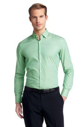 Business-Hemd ´Jenno` mit schmalem Kentkragen, Hellgrün