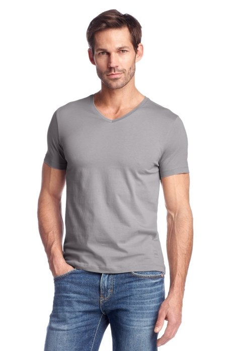 T-shirt 'Canistro 80 Modern Essential', Open Grey