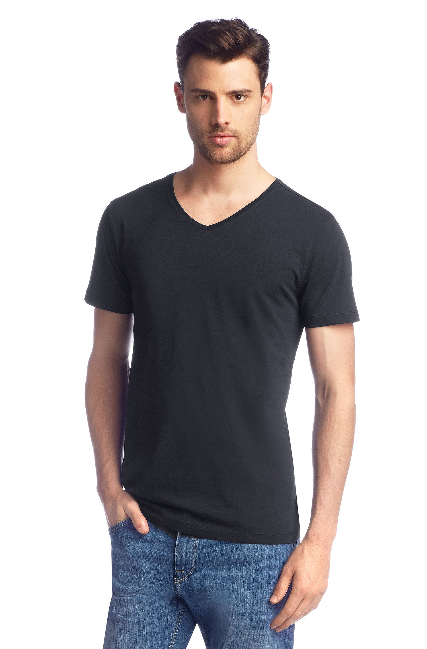 T-shirt Slim Fit, Canistro 80 Modern Essential