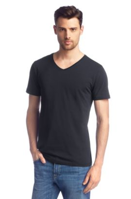 T-shirt ´Canistro 80 Modern Essential`, Donkerblauw