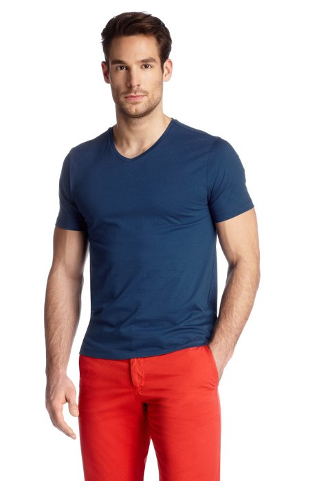 T-shirt 'Canistro 80 Modern Essential', Blue