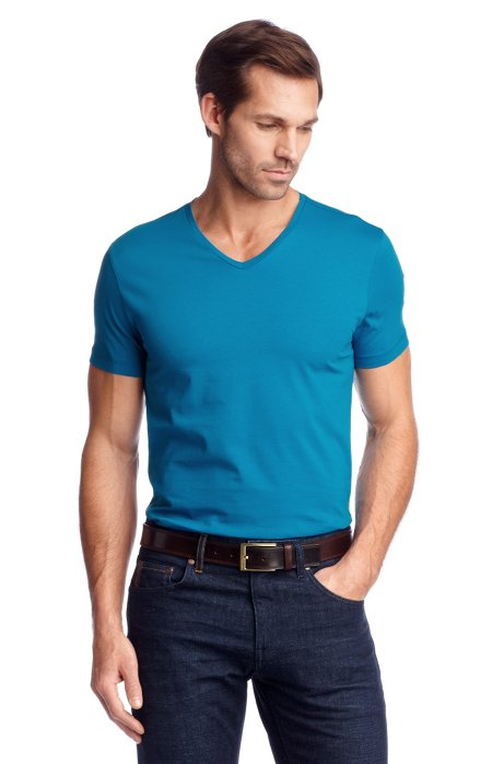 T-shirt 'Canistro 80 Modern Essential', Turquoise