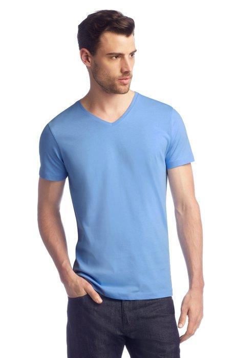 T-shirt 'Canistro 80 Modern Essential', Light Blue