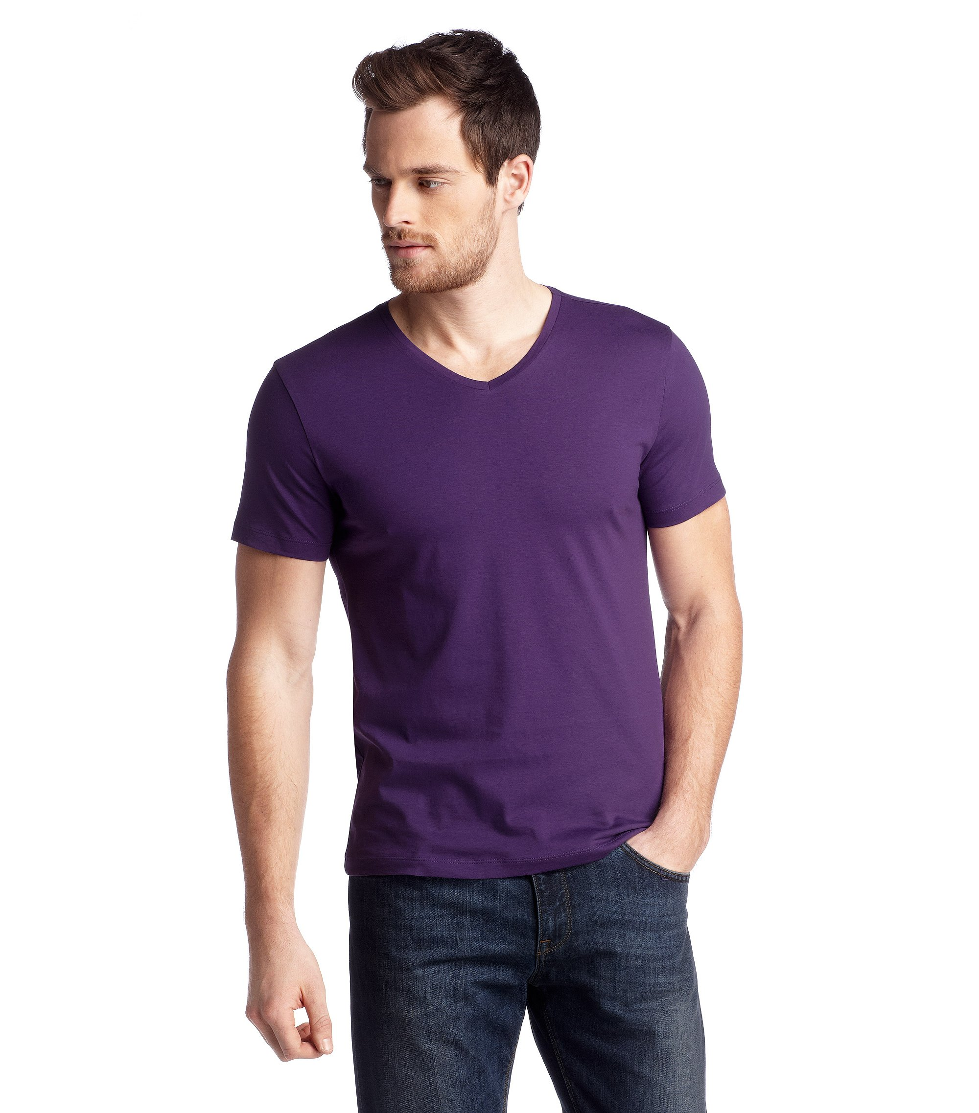 T-shirt 'Canistro 80 Modern Essential', Purple
