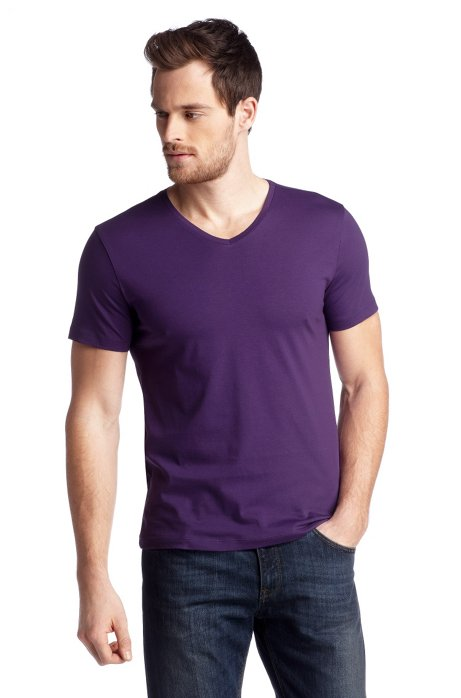 T-shirt 'Canistro 80 Modern Essential', Purple