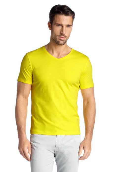 T-shirt 'Canistro 80 Modern Essential', Yellow