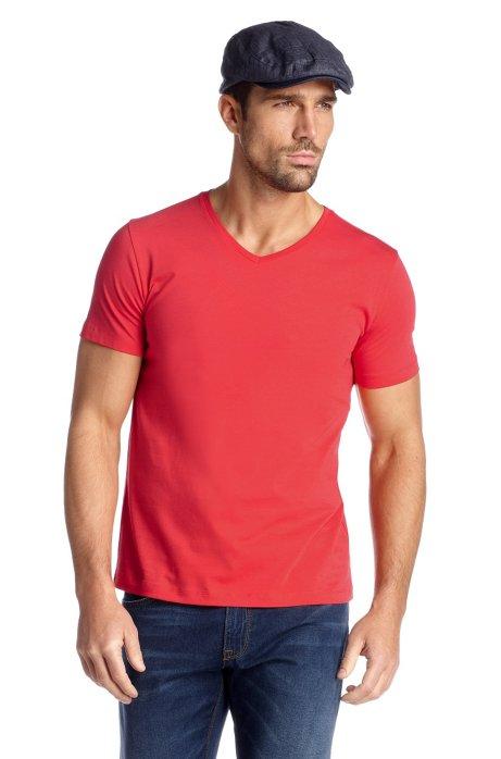 T-shirt 'Canistro 80 Modern Essential', Dark Orange