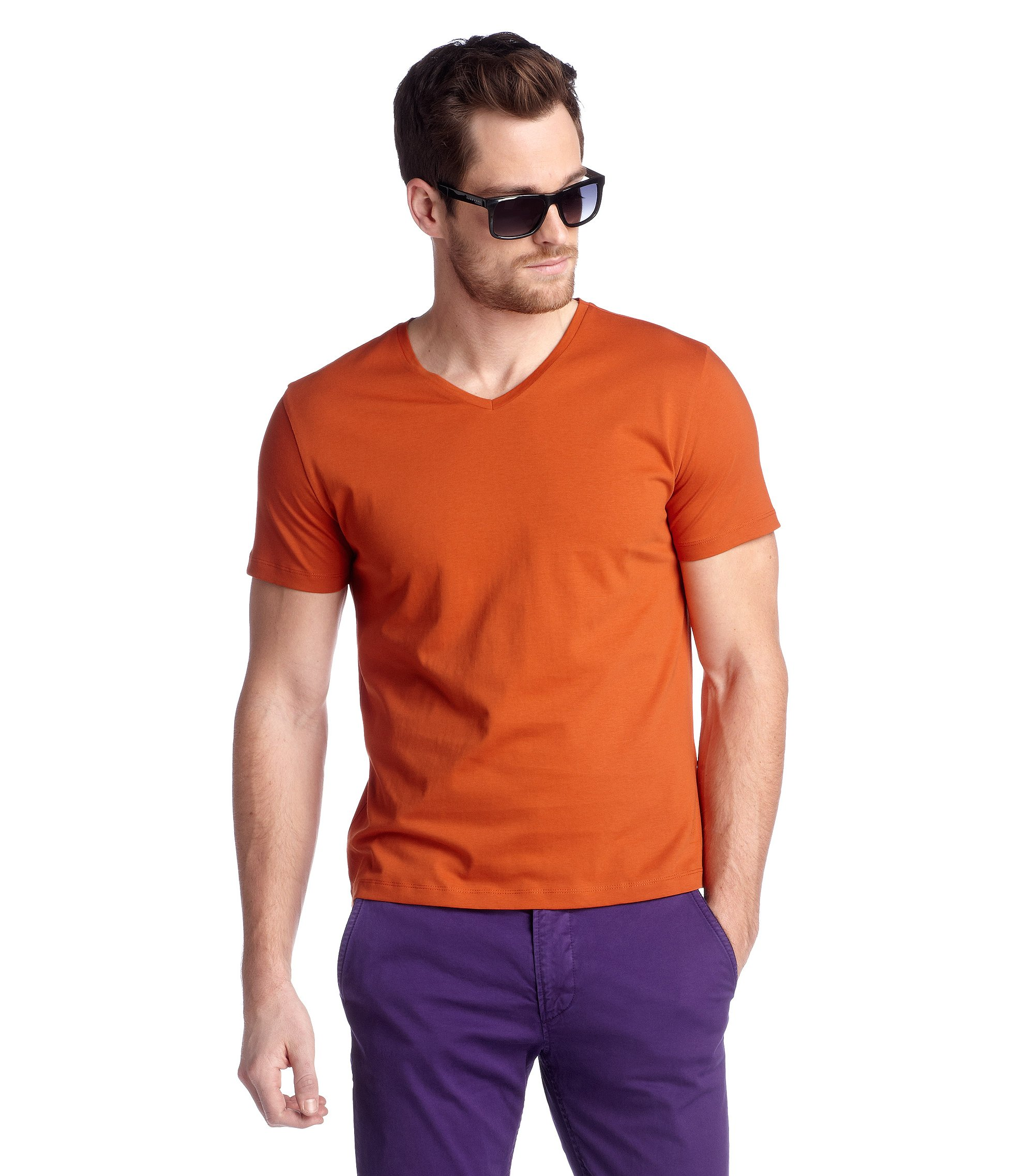T-shirt 'Canistro 80 Modern Essential', Orange