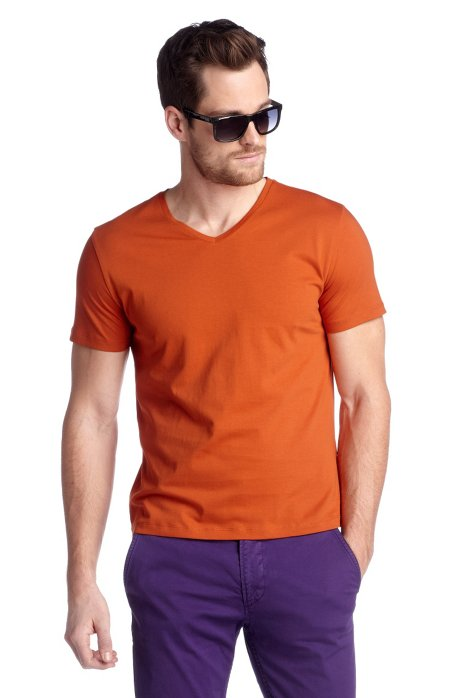T-shirt 'Canistro 80 Modern Essential', Orange
