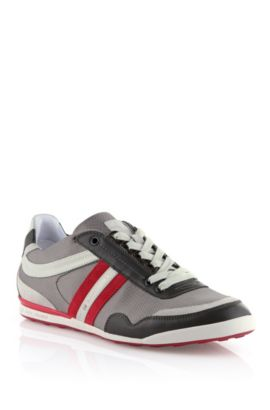 Sneaker ´Katio` mit Leder-Details, Rot