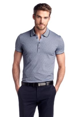 Polo ´Padria 04` (Slim-Fit), Dunkelblau