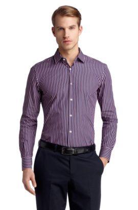 Business-Hemd ´Jenno` mit schmalem Kentkragen, Pink
