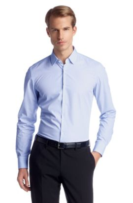 Chemise business Travel Line, Jenno, Bleu vif