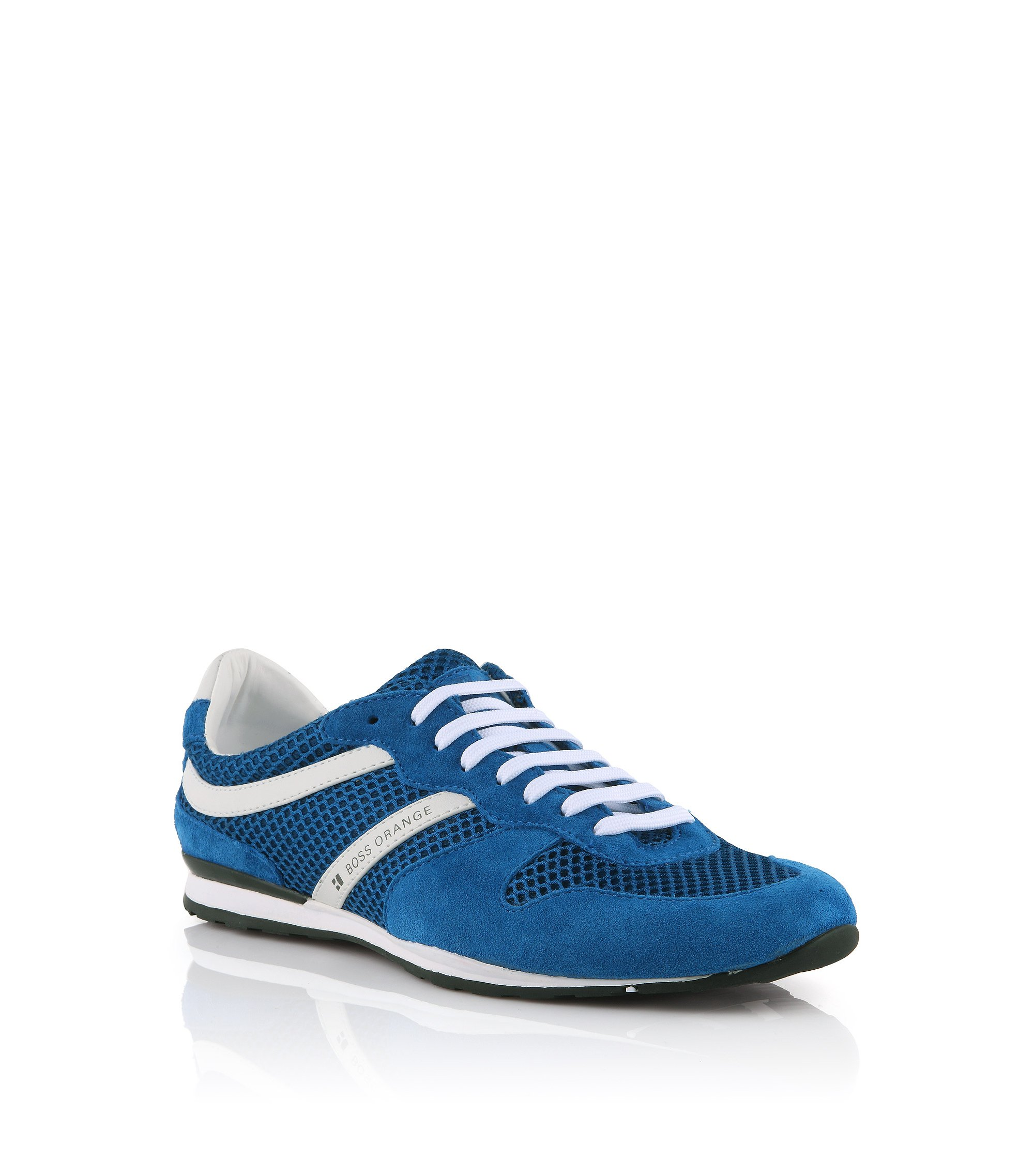 Sneaker ´Orlenno` aus Veloursleder, Blau