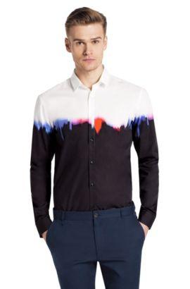 Slim-Fit Freizeit-Hemd ´Ero` mit Kentkragen, Rot