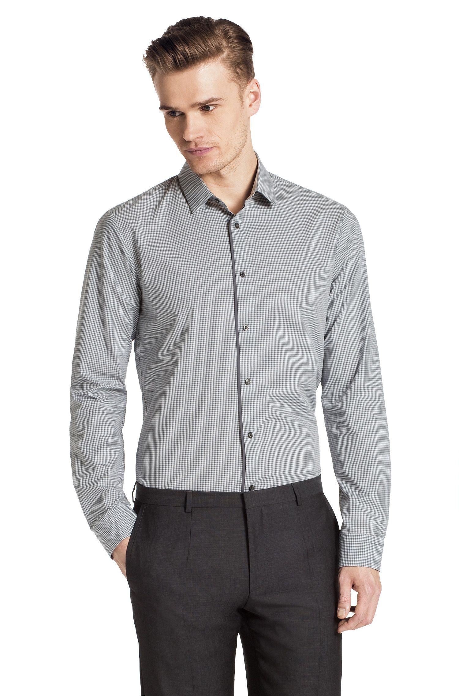 Slim-Fit Freizeit-Hemd ´Etti1` mit Kentkragen