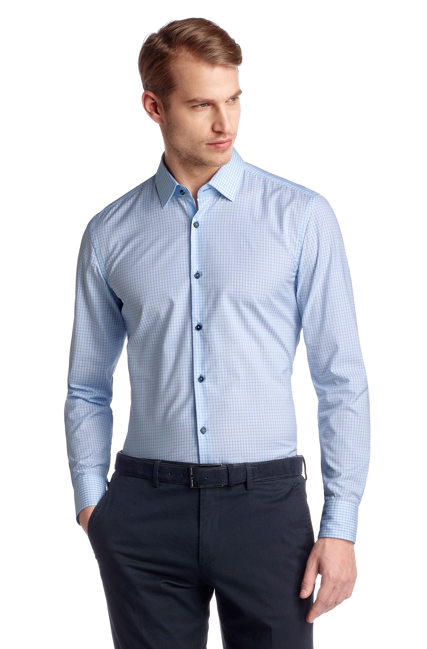 Chemise business Slim Fit à col Kent, Juri