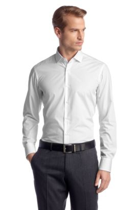 Regular-Fit Business-Hemd ´Gordon`, Weiß