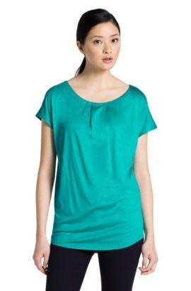 T-shirt en jersey de viscose, Niberi, Vert