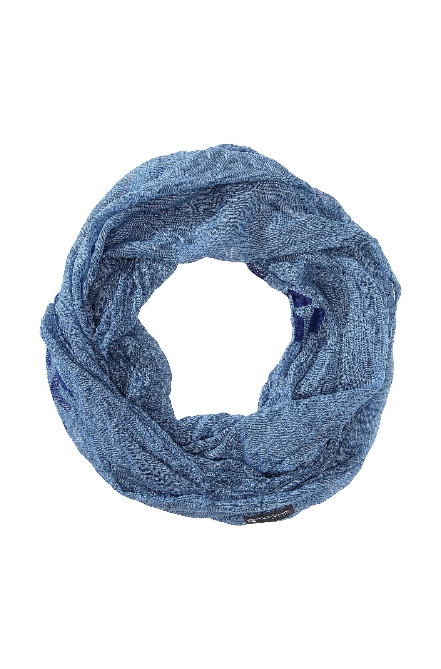Ronde sjaal ´Nuot1` met logotekst