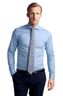 Chemise business à col requin, Christo, Bleu vif