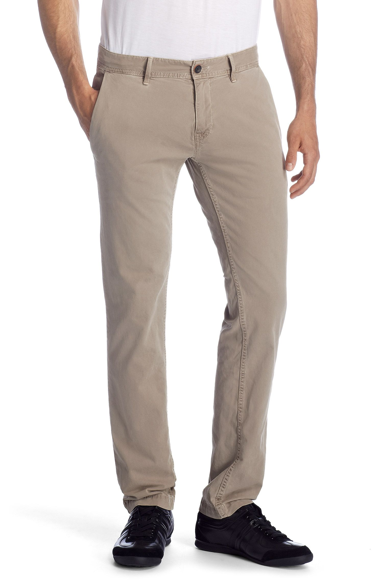 Pantalon détente Slim Fit, Schino-Slim1-D