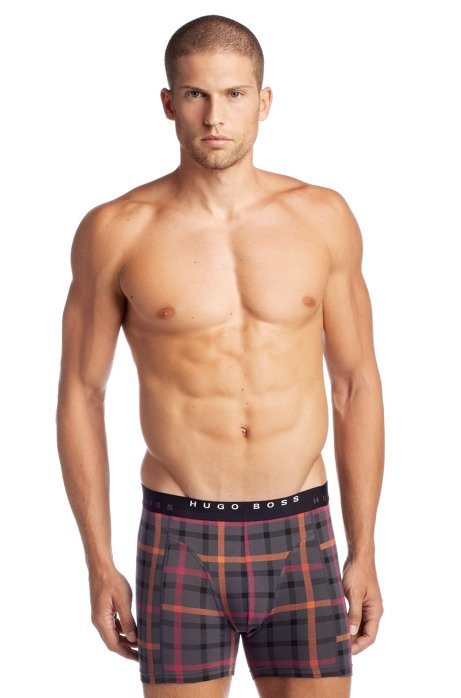 2-pack of boxer shorts 'Cyclist 2P BM', Open Grey