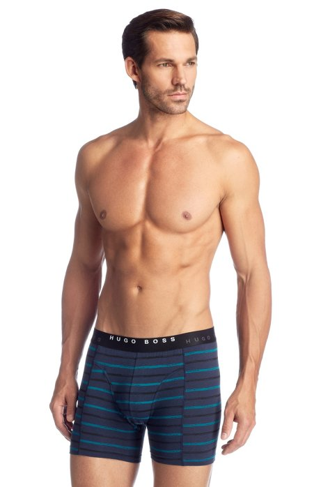 2-pack of boxer shorts 'Cyclist 2P BM', Open Blue