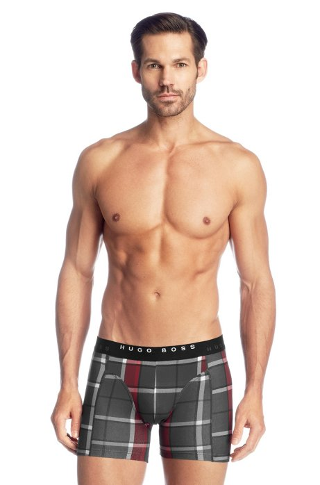 2-pack of boxer shorts 'Cyclist 2P BM', Open Red