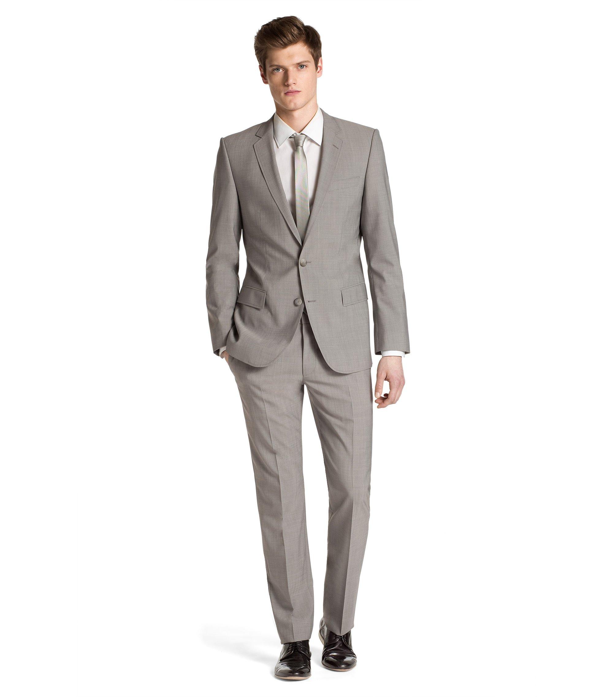 Slim-Fit Anzug ´Aiko1/Heise`, Grau