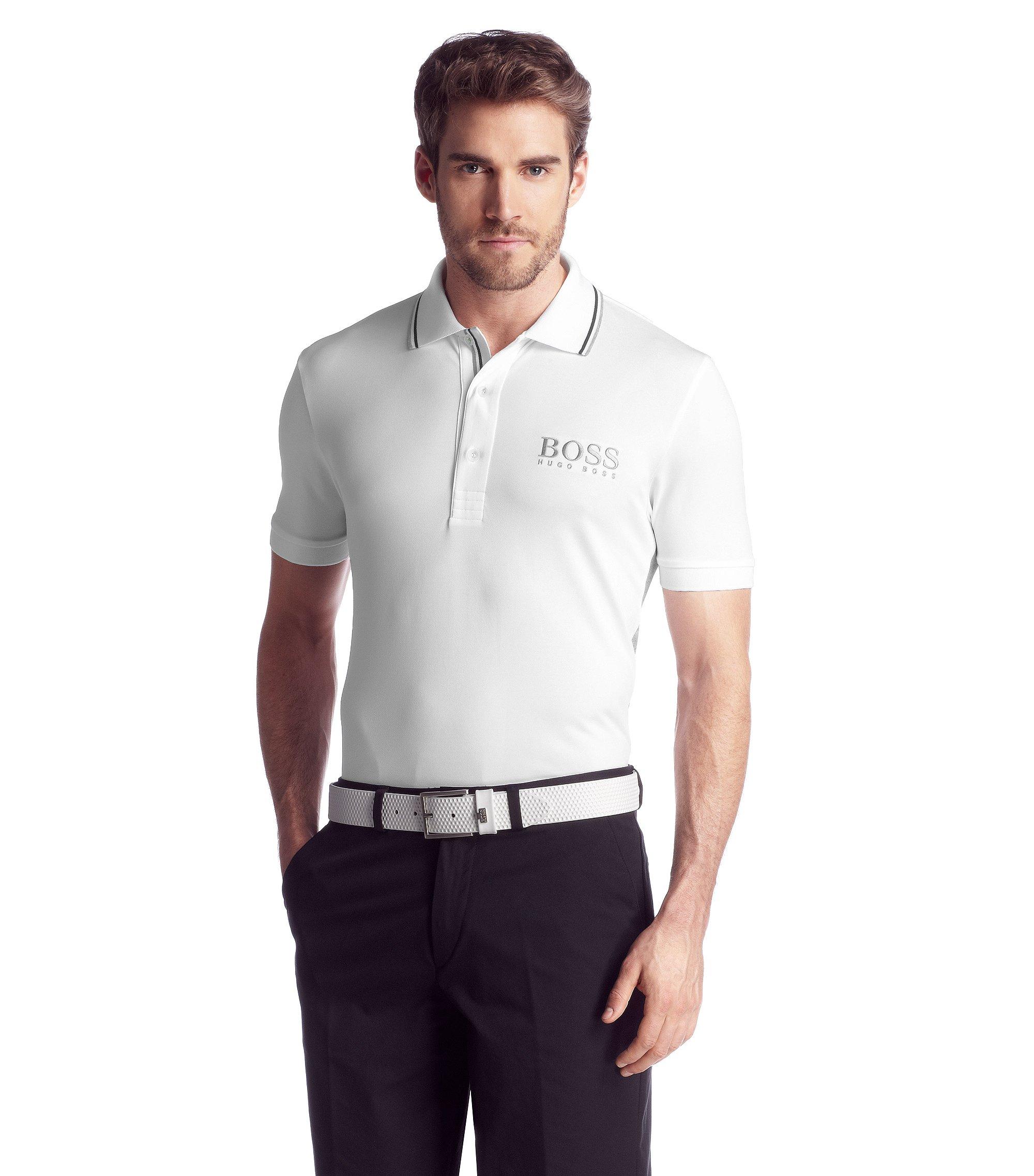 Polo Regular Fit, Paddy Pro 1, Blanc