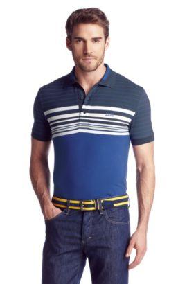 Polo en jersey de coton, Paule 1, Bleu