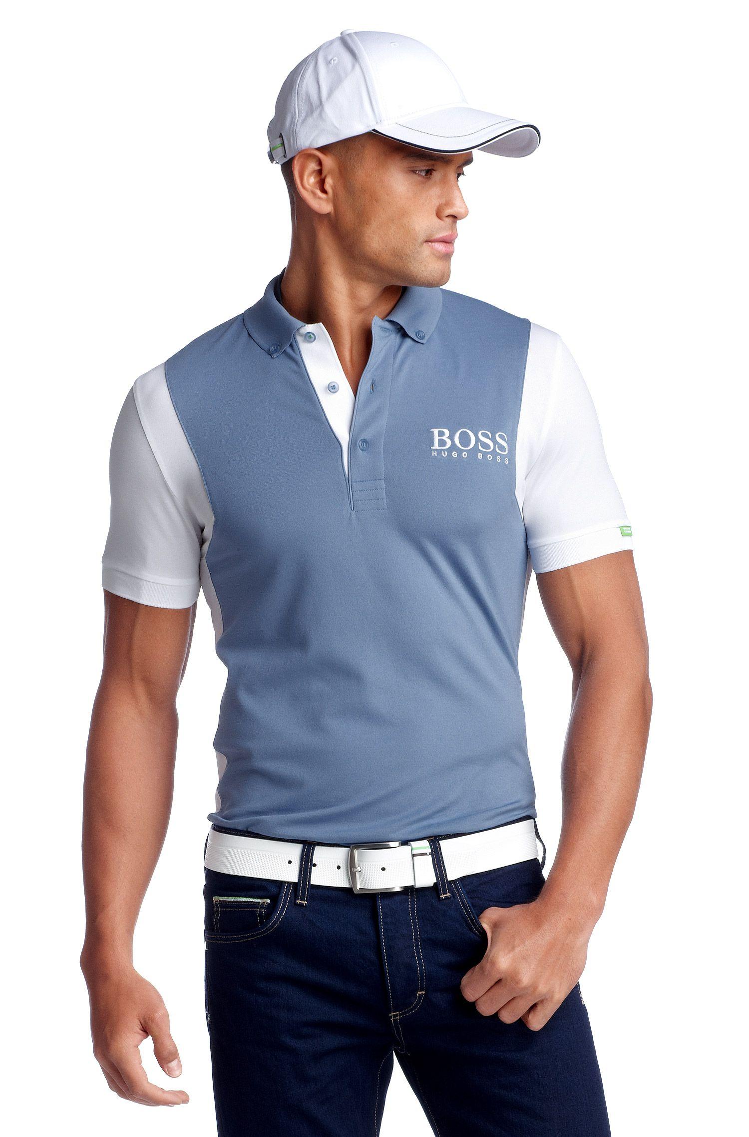 Modern-Fit Piqué-Poloshirt ´Paddy MK`