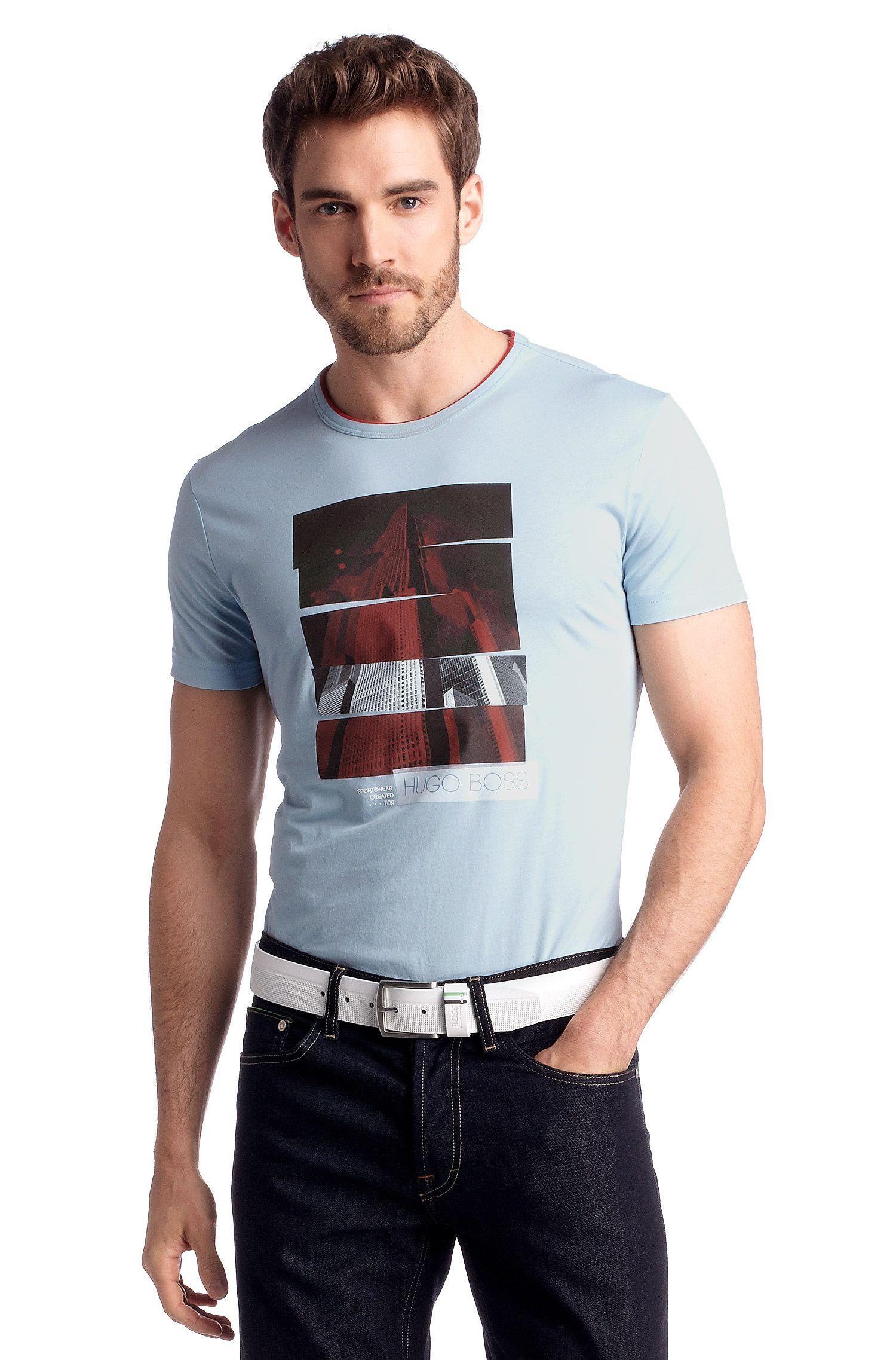 T-Shirt ´Tee 4` mit Rundhals-Ausschnitt