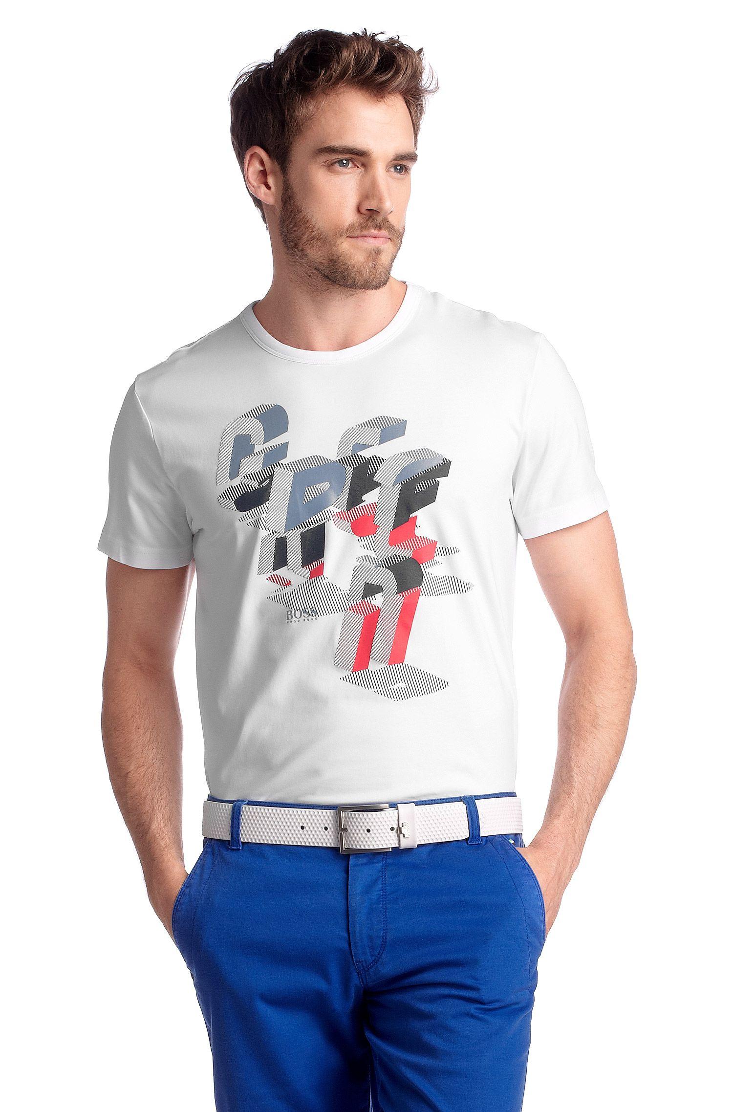 T-Shirt ´Tee 5` mit Rundhals-Ausschnitt