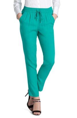 Pantalon «Hesani» en viscose, Vert