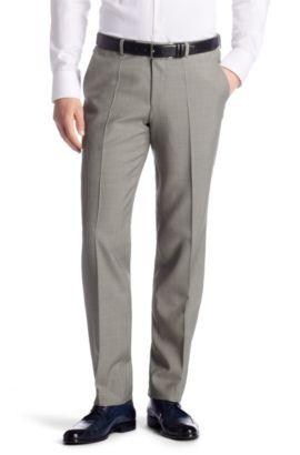 Anzug-Hose ´Shark4` aus reiner Schurwolle, Hellbraun