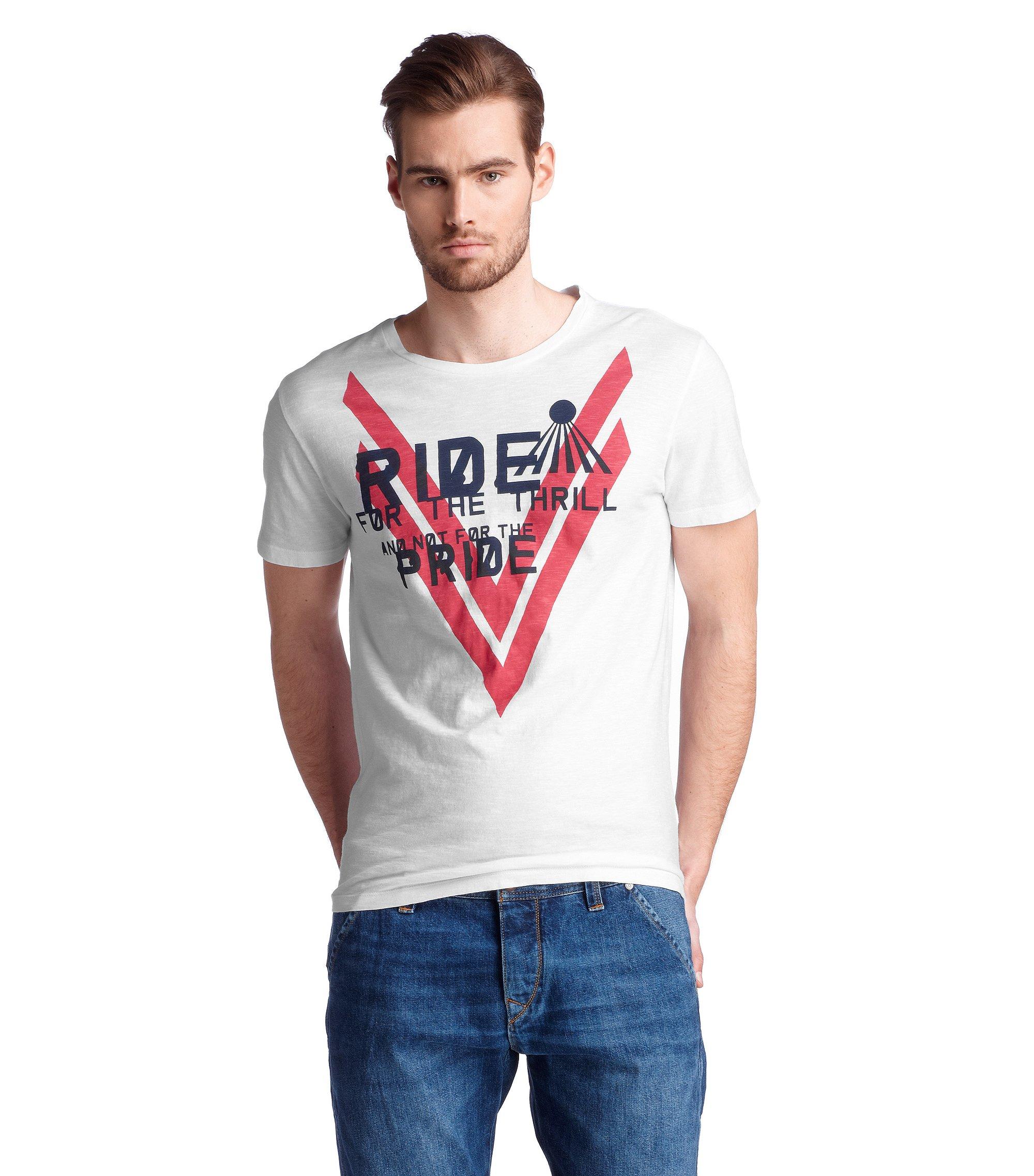 T-shirt à encolure ronde, Terell 2, Blanc