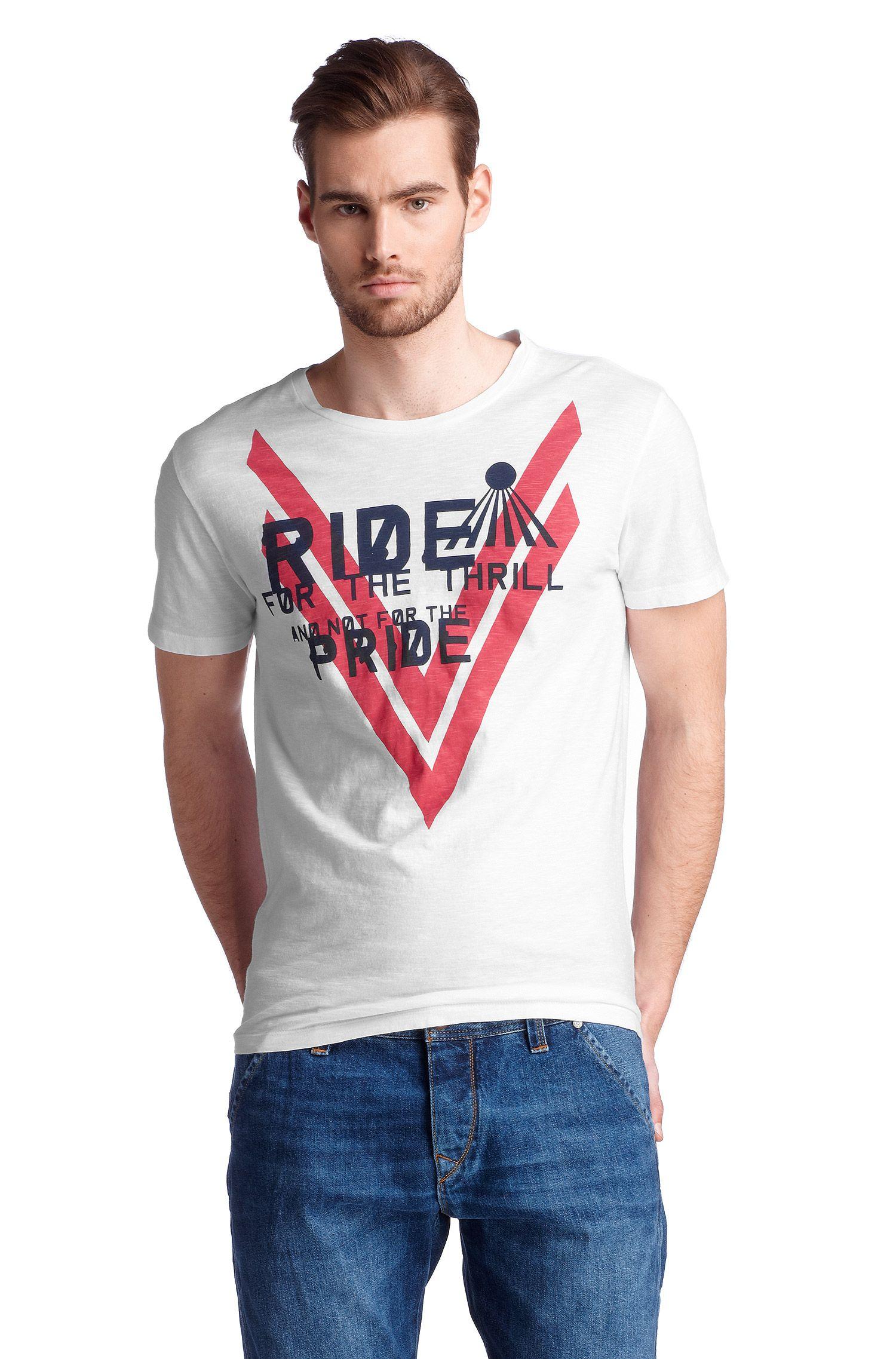 T-Shirt ´Terell 2` mit Rundhals-Ausschnitt