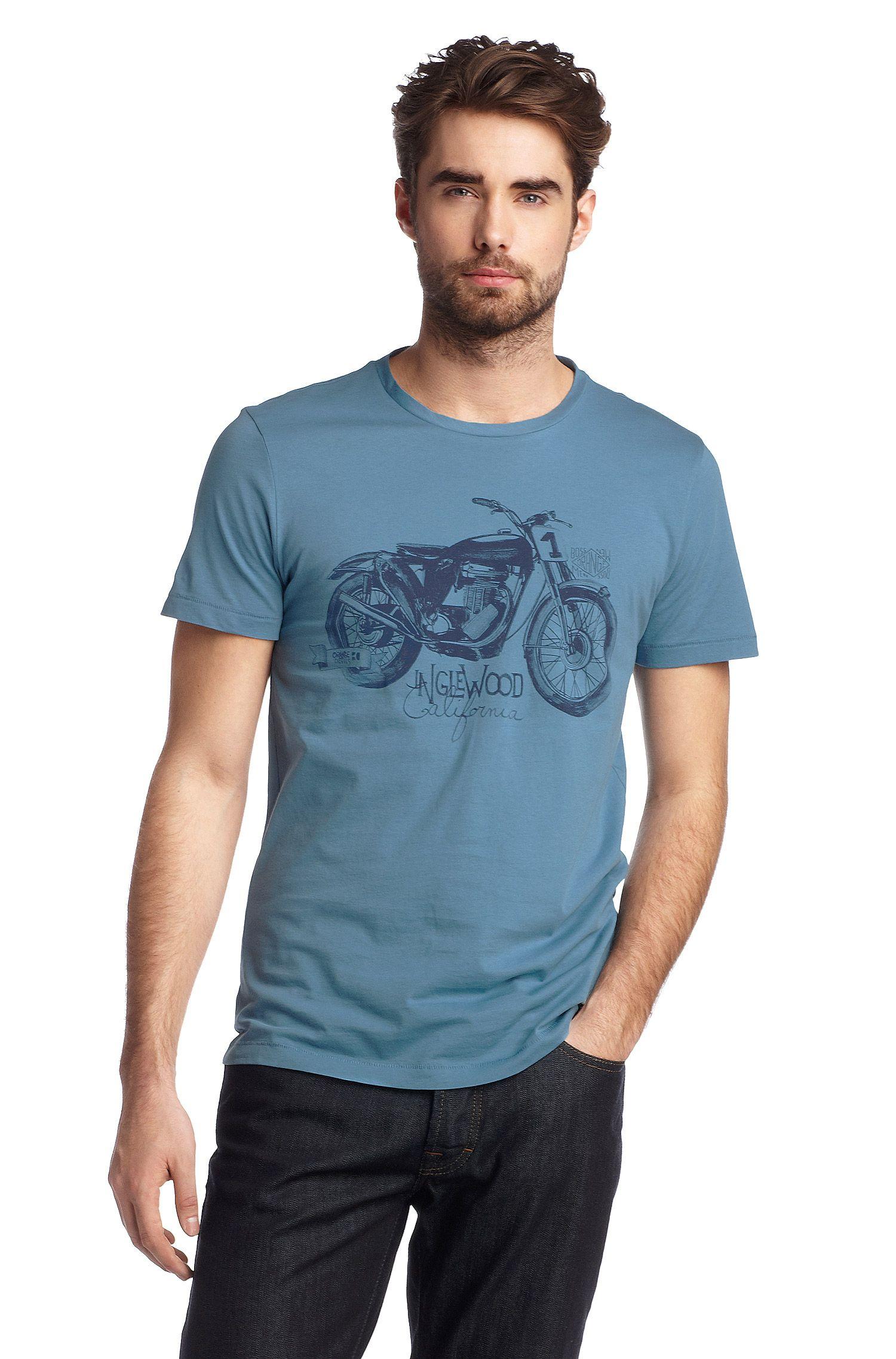 T-Shirt ´Takeout 1` mit Rundhals-Ausschnitt