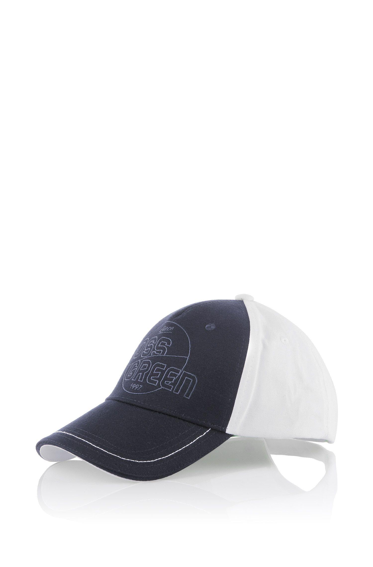 Cap ´Cersey` aus reiner Baumwolle
