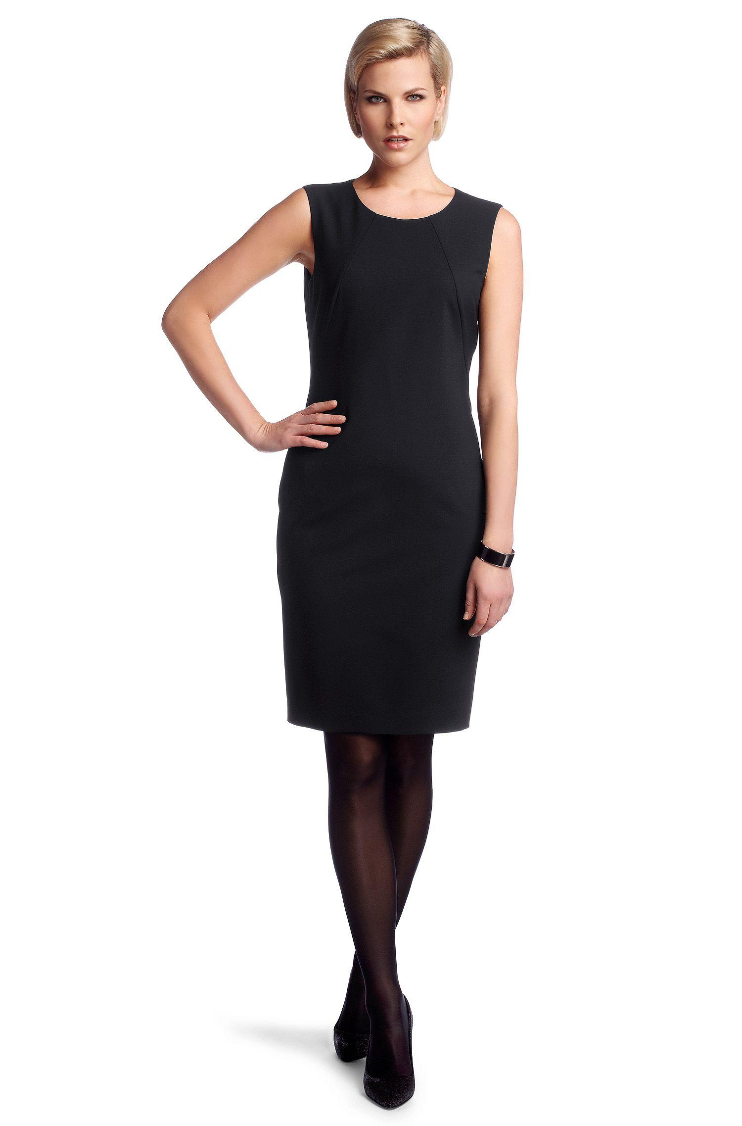 Kleid ´Dallasa7` mit Schurwolle