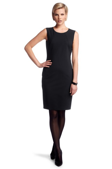 Dress with new wool 'Dallasa7', Dark Blue