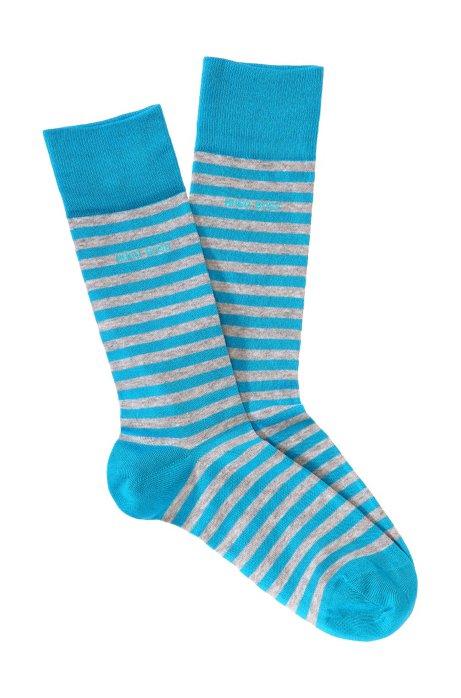 Striped socks 'Marc Design', Blue