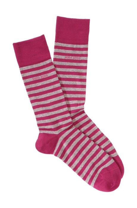 Striped socks 'Marc Design', Pink