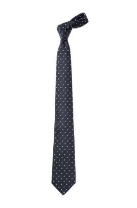 Krawatte ´TIE CM 8` aus reiner Seide, Dunkelblau